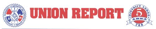 UNION REPORT